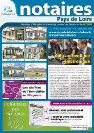 Not Mayenne - Le Journal des Notaires
