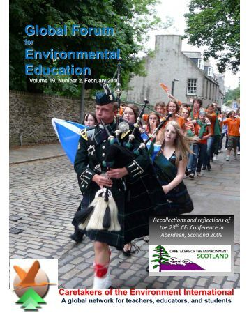 The Global Forum for Environmental Education, Volume 19, Number ...