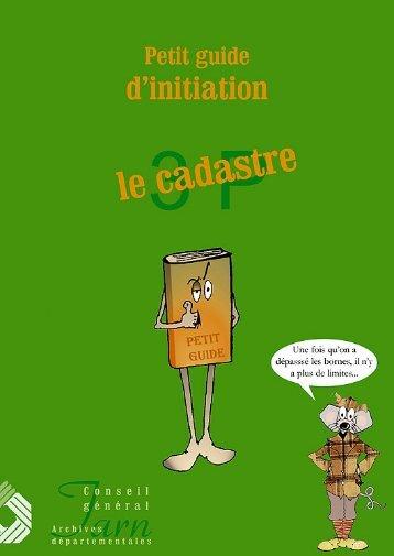 Petit guide d'initiation : le cadastre