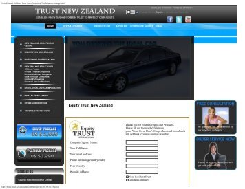 New Zealand Offshore Trust Asset Protection Tax Solutions ...