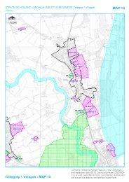 Map 15: Hallow - South Worcestershire Development Plan
