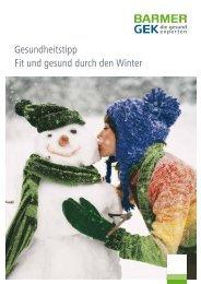 Gesundheitstipp Fit und gesund durch den Winter - Potsdamer ...