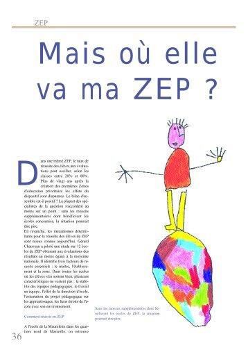ans une même ZEP, le taux de réussite des élèves aux ... - SNUipp