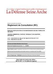 Règlement de Consultation (RC) - Epadesa