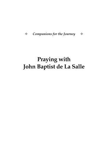 Praying with John Baptist de La Salle - Saint Mary's Press