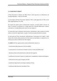 Proposta di Piano Provinciale di Gestione dei Rifiuti 2. IL PIANO ...
