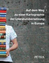 Auf dem Weg zu einer Kartographie der Literaturübersetzung ... - Petra