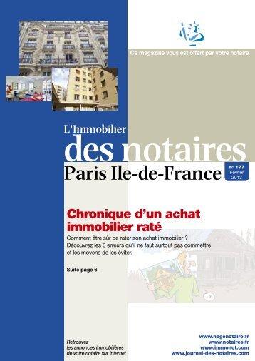 177 fevrier 2013 75 journal-des-notaires-notaires-de-paris-ile-de ...