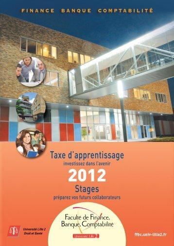 les stages - Ecole supérieure des affaires - Université Lille 2 Droit et ...