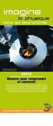 Découvrez le monde de la physique en Normandie Des ... - CNRS