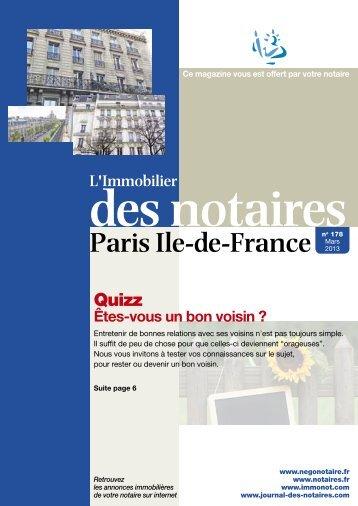 178 mars 2013 75 journal-des-notaires-notaires-de-paris-ile-de ...