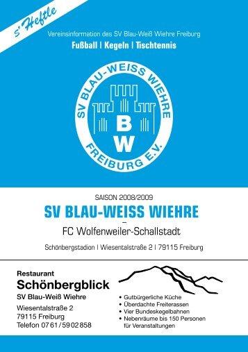 Fahrdienst Wespiser - SV Blau-Weiss-Wiehre Freiburg eV