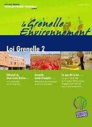 le Grenelle Environnement - Ministère du Développement durable