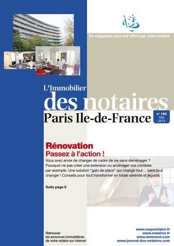 180 mai 2013 75 journal-des-notaires-notaires-de-paris-ile-de ...