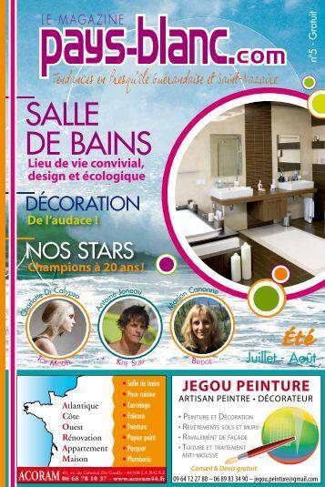 SALLE DE BAINS - Pays-blanc