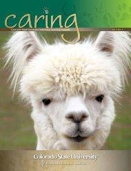 Caring Magazine - Fall 2012 - College of Veterinary Medicine ...