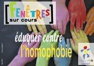 Eduquer contre l'homophobie - SNUipp