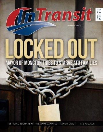 July/August - Amalgamated Transit Union