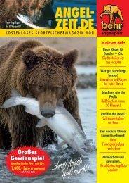 Angelzeit Heft Nr.8 - Herbst 2007 - Behr Angelsport GmbH