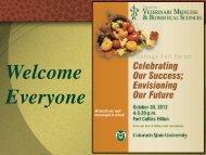 Collaboration - College of Veterinary Medicine & Biomedical Sciences