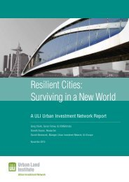 Resilient Cities: Surviving in a New World