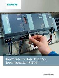 SITOP Stromversorgung