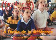 À l'école de la différence À l'école de la différence - SNUipp