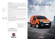 Fiat Fiorino Prospekt - Transporter + Service