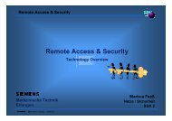 Remote Access & Security