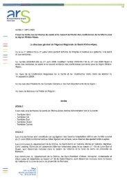 l'arrêté du 18 octobre 2010 - ARS Rhône-Alpes
