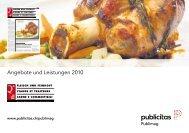 Angebote und Leistungen 2010 - Publimag