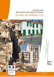 La lettre de l'Habitat n°25 - Dossier spécial - DREAL Poitou-Charentes