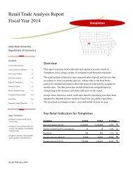 Retail Trade Analysis Report Fiscal Year 2012 - Iowa Community ...
