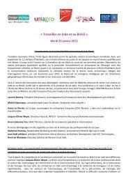 « Travailler en Inde et au Brésil » - Intermines