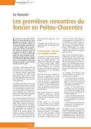 Actualités - DREAL Poitou-Charentes