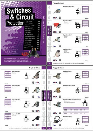 Switches & Circuit Protection - Indotek-bpn.com