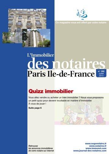 182 juillet 2013 75 journal-des-notaires-notaires-de-paris-ile-de ...