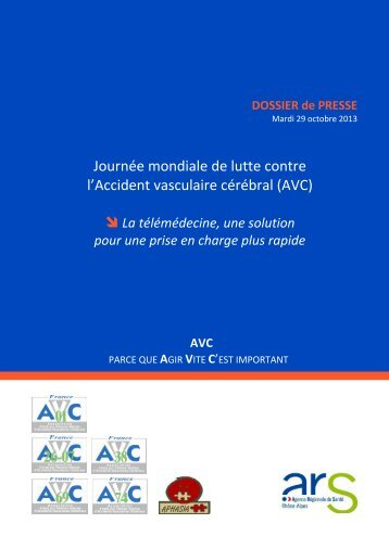 DOSSIER de PRESSE - ARS Rhône-Alpes