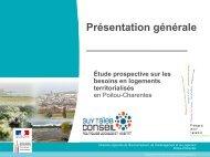 Diaporama de présentation générale de l'étude - DREAL Poitou ...
