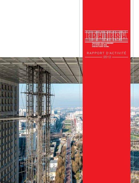 rapport d'activité 2012 - Epadesa