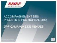 diaporama de la présentation - ARS Rhône-Alpes