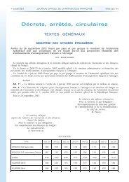 Arrêté du 26 septembre 2013 montant de l'ISVL au 1er ... - SNUipp