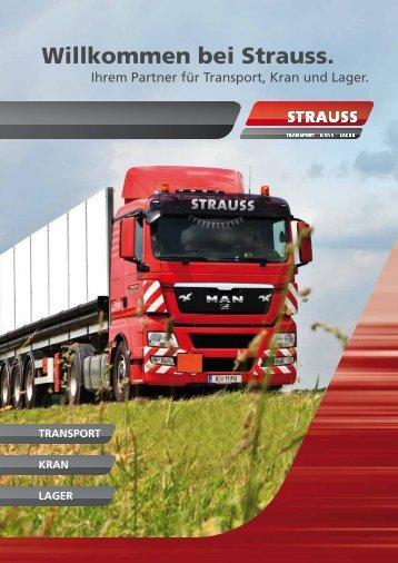 Willkommen bei Strauss.