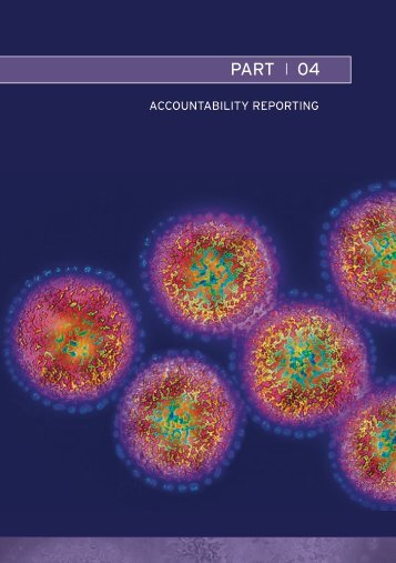 Part 04 – Accountability Reporting - Department of Health and Ageing