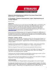 Allgemeine Geschäftsbedingungen 2012