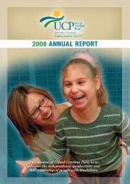 2008 - United Cerebral Palsy of Greater Cleveland