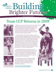 Winter 2009 - United Cerebral Palsy of Greater Cleveland
