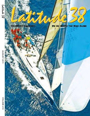 Latitude 38 August 2011
