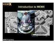 MEMX TMT CfAO.pdf - Laboratory for Adaptive Optics