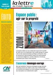 Espace public : agir sur la propreté - Crédit Agricole du Nord Est